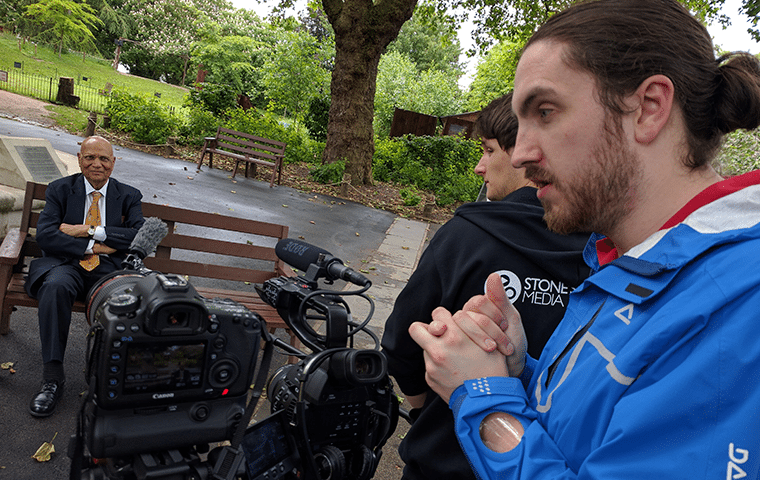 London Zoo Filming