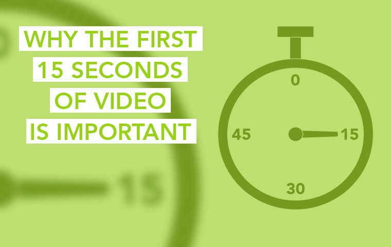 Why the first 15 seconds of video is important