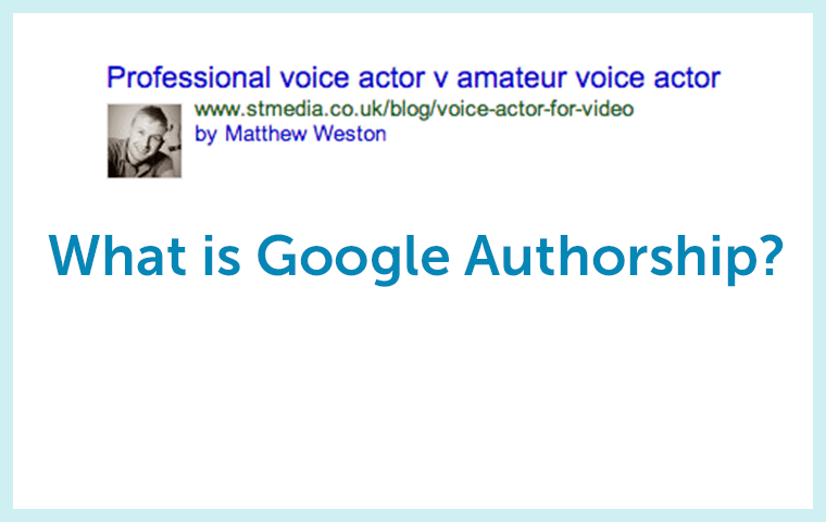 Just What is Google Authorship?