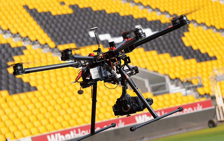 DRONES Throw Media – Aerial video & aerial photography UK