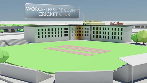 Great city great future Worcester city council 3d video
