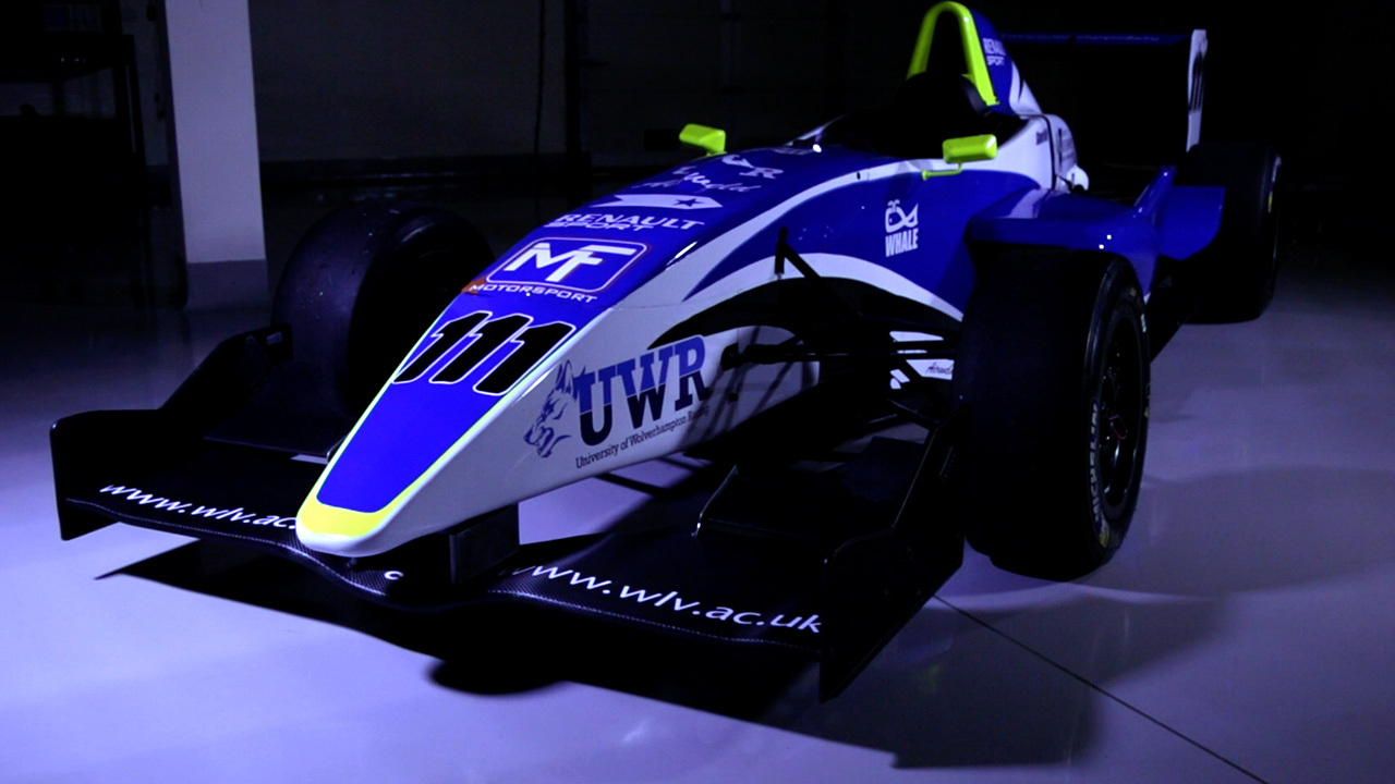 video production formula renault university racing team birmingham