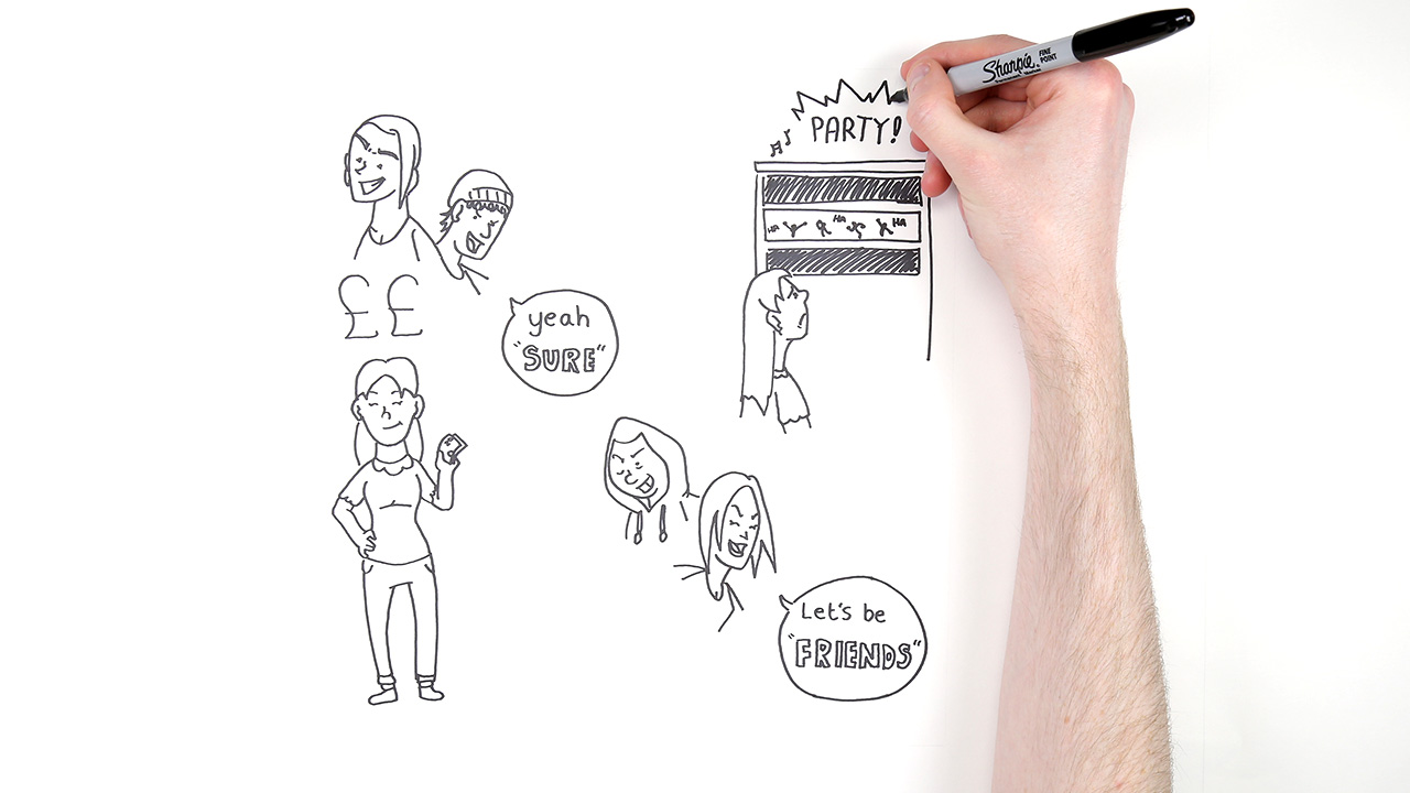 drawn animation for bromford housing wolverhampton