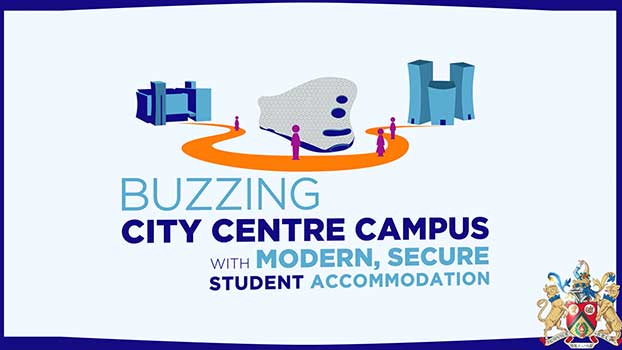 University College Birmingham graphic animation infographic video