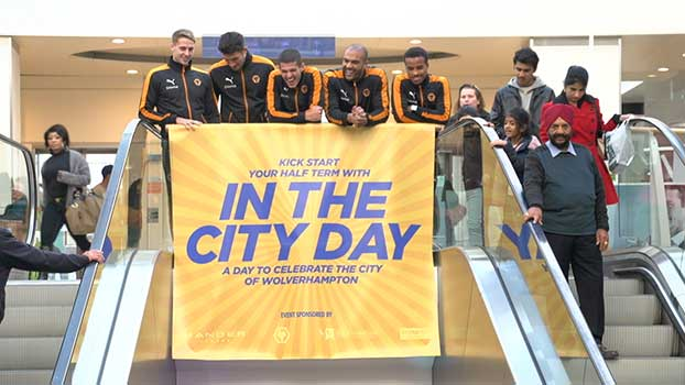 In the city day wolverhampton event video production
