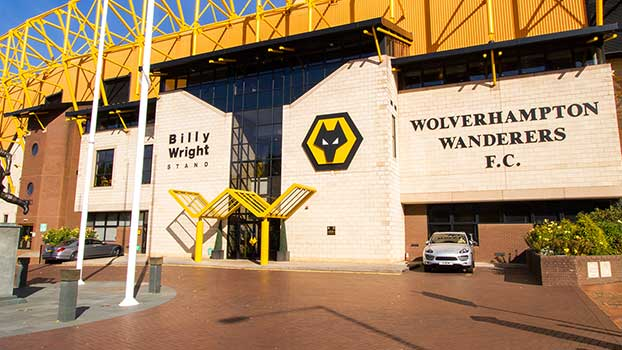 Wolves football club hyperlapse video