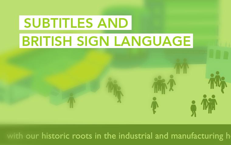 Subtitles and British Sign Language