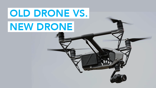 Old Drone vs New Drone