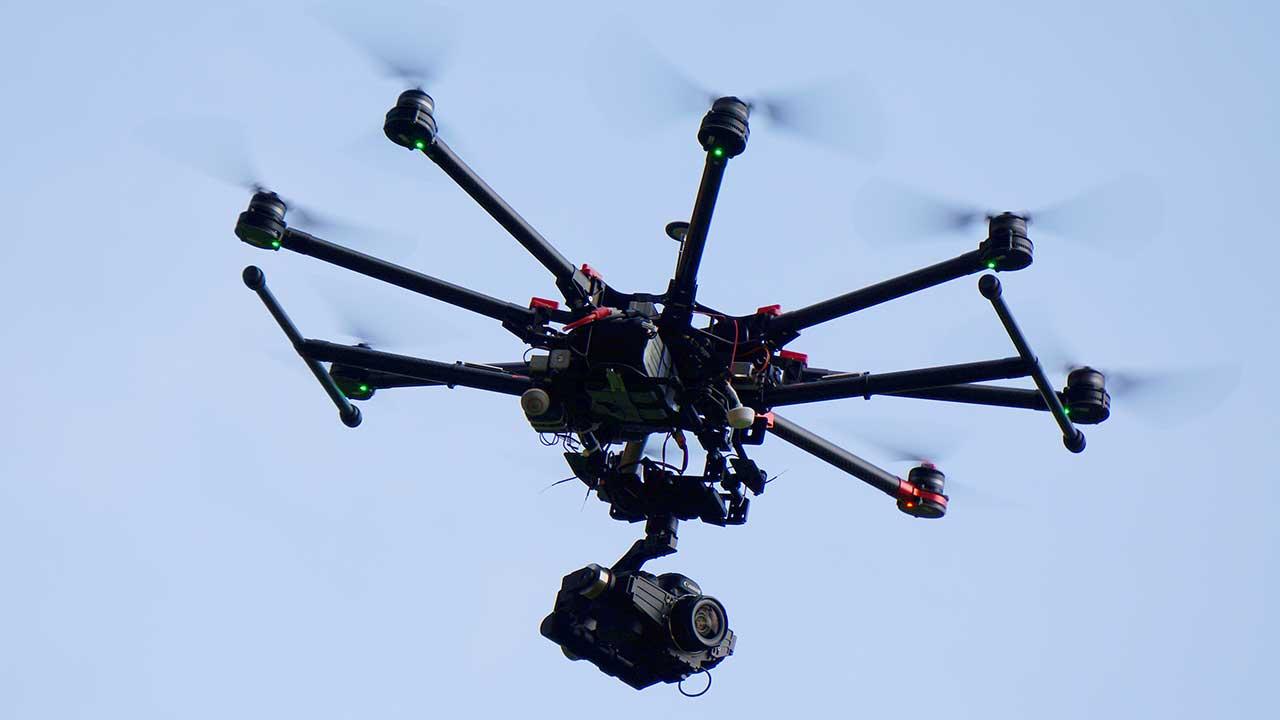 DJI s1000 aerial video wolverhampton
