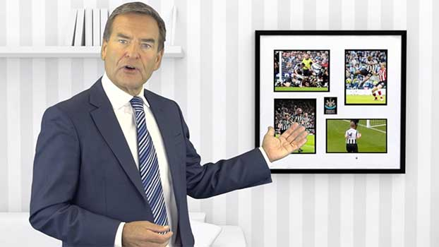 Next Generation Frames Web Video Advert with Jeff Stelling
