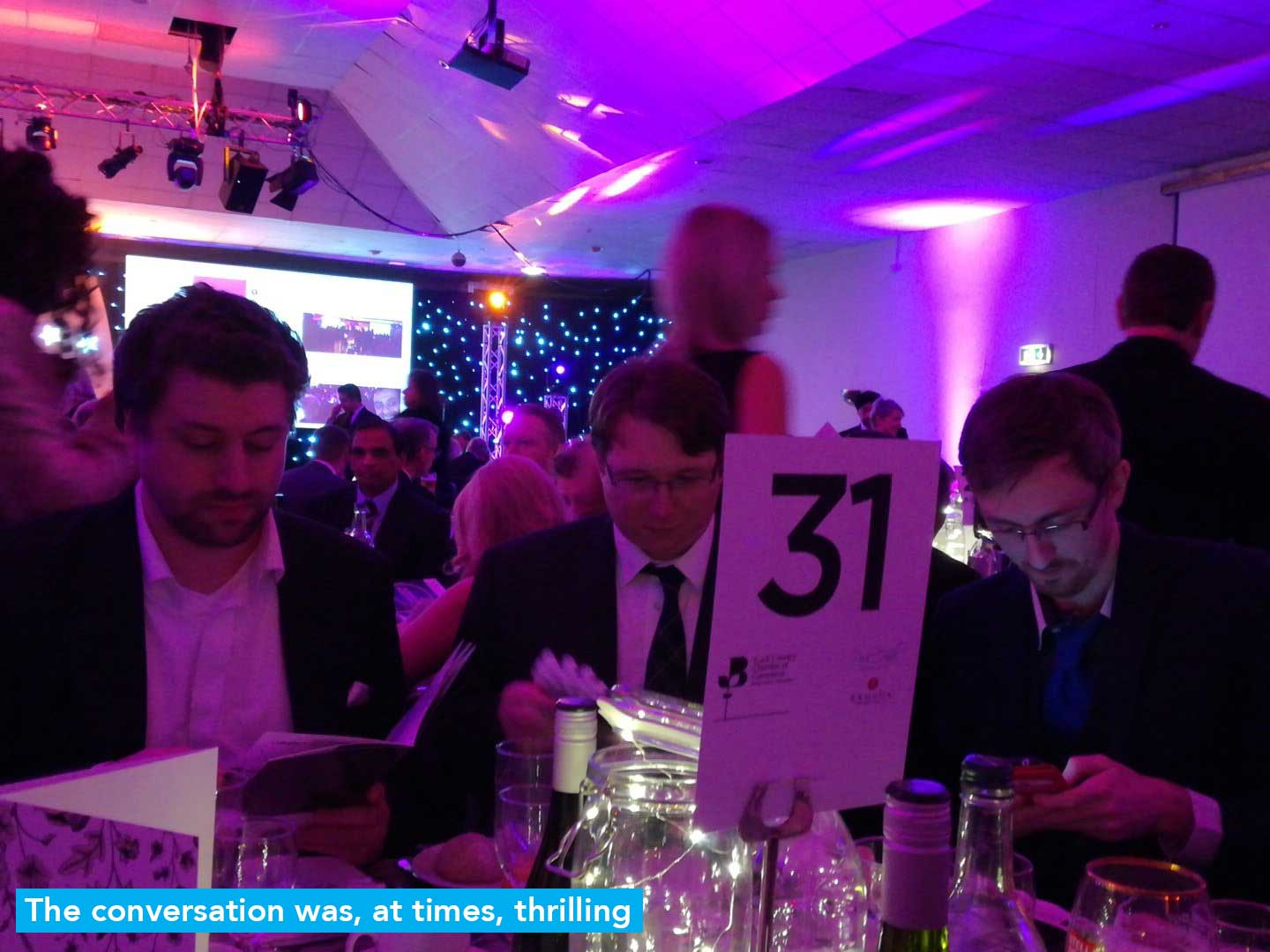 Black Country Chamber of Commerce Awards 2017 Stone's Throw Media