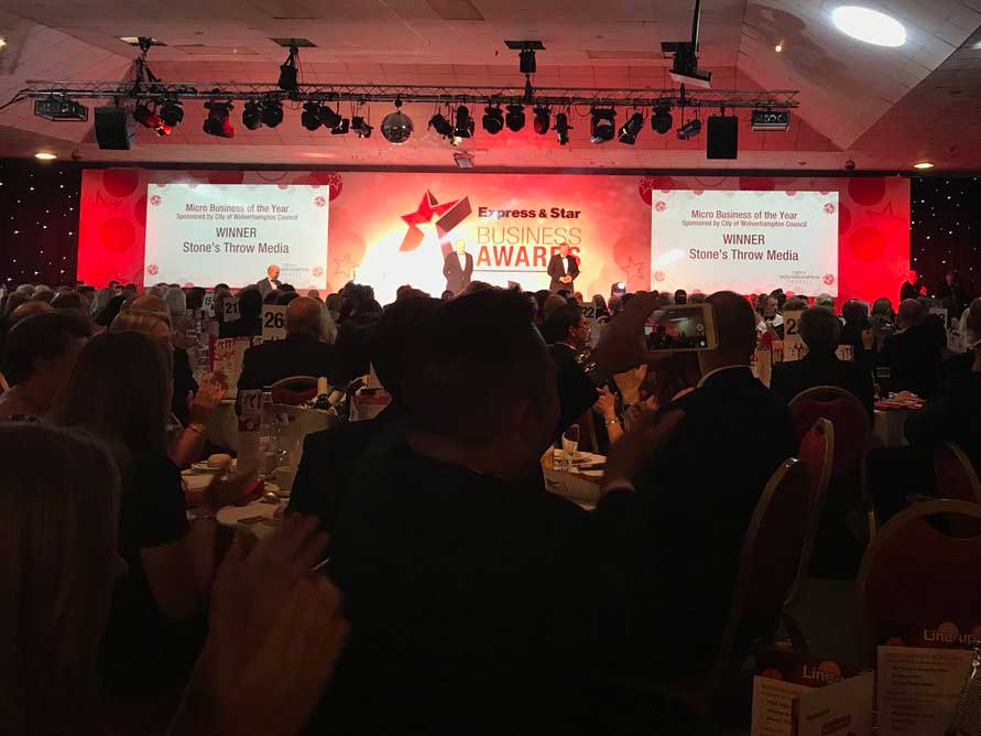 express and star award winners 2018 micro business of the year