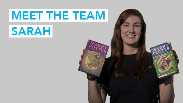 Meet the Team (Sarah)