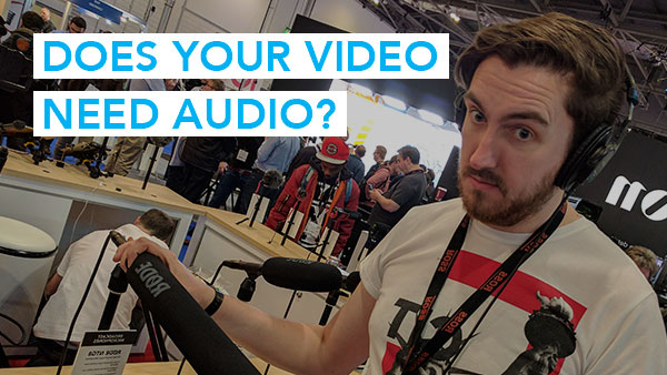 Does Your Video Need Audio?