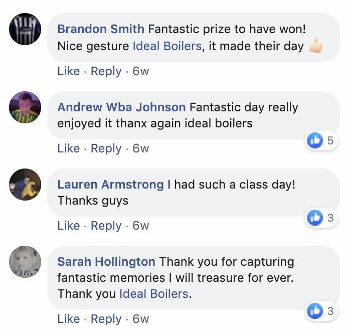 WBA Ideal Boilers Comments