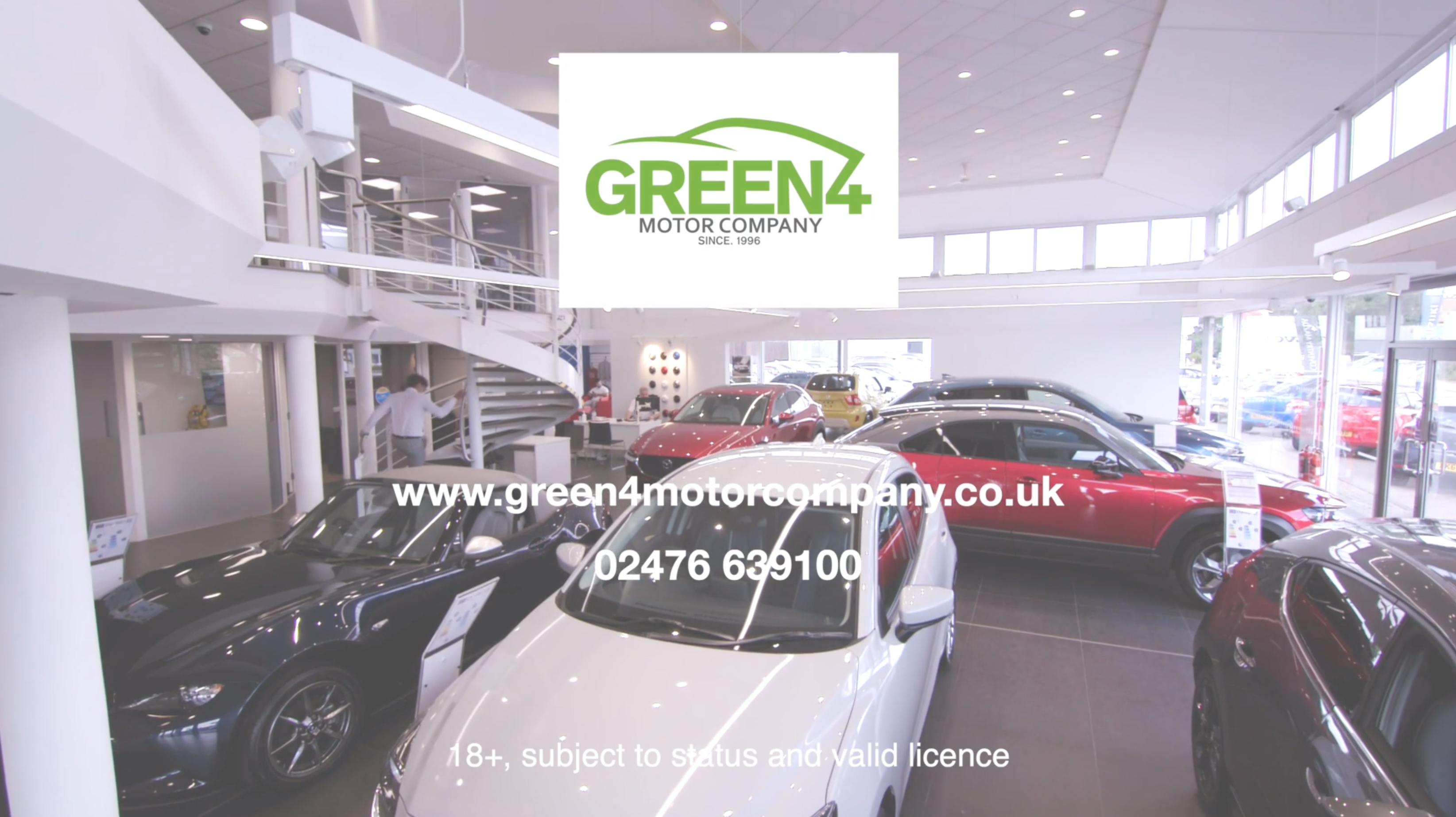 Green 4 Motor Company Sky Adsmart TV advert